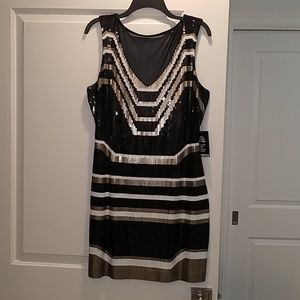 Showstopper!! Sequined Mini Dress